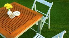 Как выбрать складные столы и стулья для пикника