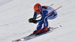 Какую скорость развивает горнолыжник спускаясь по трассе