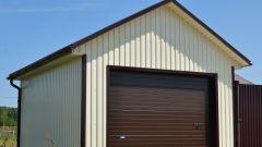 Из чего сделать гараж