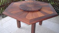 Как сделать стол на даче