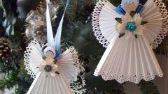 Как сделать ангелочка из бумаги своими руками
