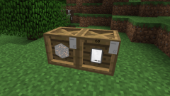 Как в Minecraft сделать ящик