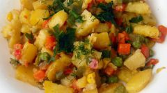 Stewed potatoes with vegetables: recipes
