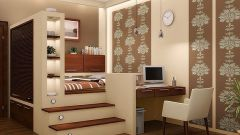 The podium to the bed: a modern and functional solution