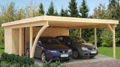 Стоит ли строить во дворе частного дома гараж или достаточно навеса