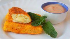 Как приготовить картофельные палочки с сыром