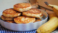 Банановые сырники: 2 рецепта