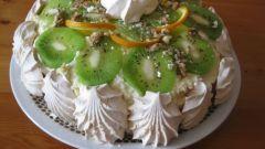 Как сделать зефирный торт