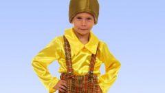 Как изготовить костюм Чиполлино своими руками