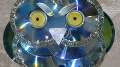 How to make an owl of the disks