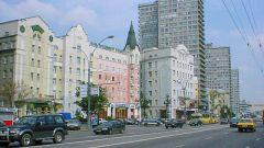Какой самый красивый проспект в Москве