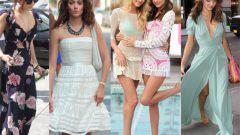 Из какой ткани купить летнее платье