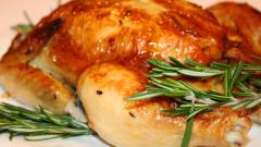 Как приготовить курицу в кефире в духовке