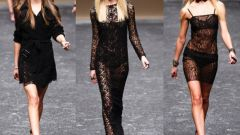 Вязаные ажурные платья: куда и с чем носить