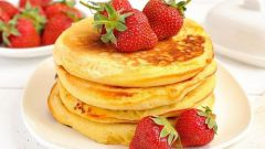 How to make fluffy pancakes from milk powder