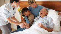 What are the visiting rules in the hospital, friends or relatives