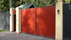 Какие ворота для частного дома выбрать