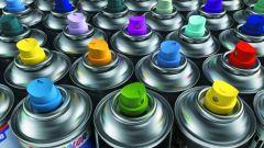 Аэрозольная краска для пластика: правила использования