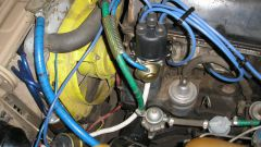 How do you set the ignition for VAZ 2107