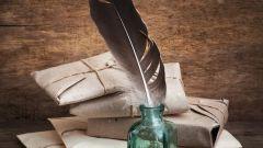Перья каких птиц использовали раньше для письма