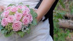 Как сделать свадебный букет из роз