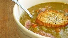 Сколько гороха нужно на гороховый суп