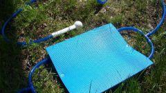 Душ-топтун – простое решение для дачи