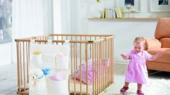 How to arrange a place for a newborn in a Studio apartment