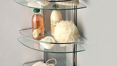 Полки для ванной комнаты: классификация, выбор