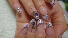 Как делать литье на ногтях