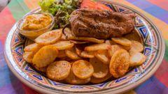 Как пожарить картофель без масла