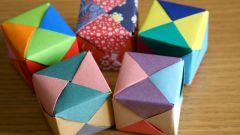 Как сделать кубик оригами своими руками
