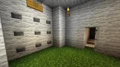 Как сделать кодовый замок на дверь в Minecraft