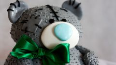 Как сделать мишку Тедди из мастики