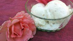 Как приготовить мороженое из лепестков роз