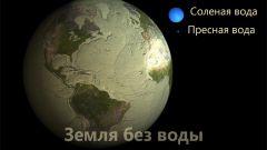 Как выглядит земля без воды