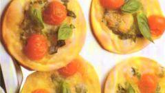 Маленькая пицца для вечеринки