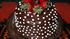"""Как приготовить торт """"Шоколадный плен"""""""