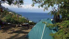 Как отдохнуть в Крыму с палаткой