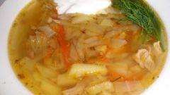 Как приготовить щи из свежей капусты с курицей