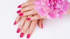 Маникюр в розовом цвете