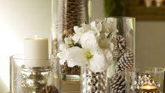 Как украсить интерьер вазами
