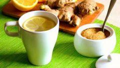 Чай с имбирем для тех, кто хочет похудеть