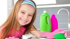 Как приучить ребенка к работе по дому