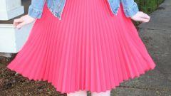 Как сшить юбку в складку самостоятельно