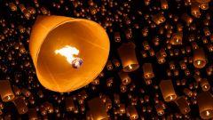 Где и как запустить небесный фонарик