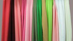 Из каких тканей можно шить платье