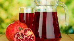 Как приготовить гранатовый сок