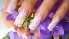 Как моделировать ногти гелем