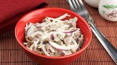 Какой салат приготовить из белой редьки